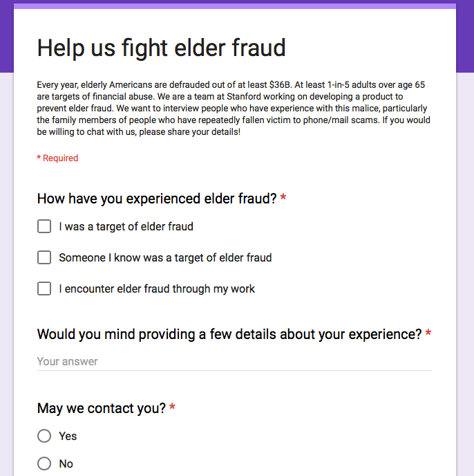 Stanford Elder Fraud Group contact form 1.png