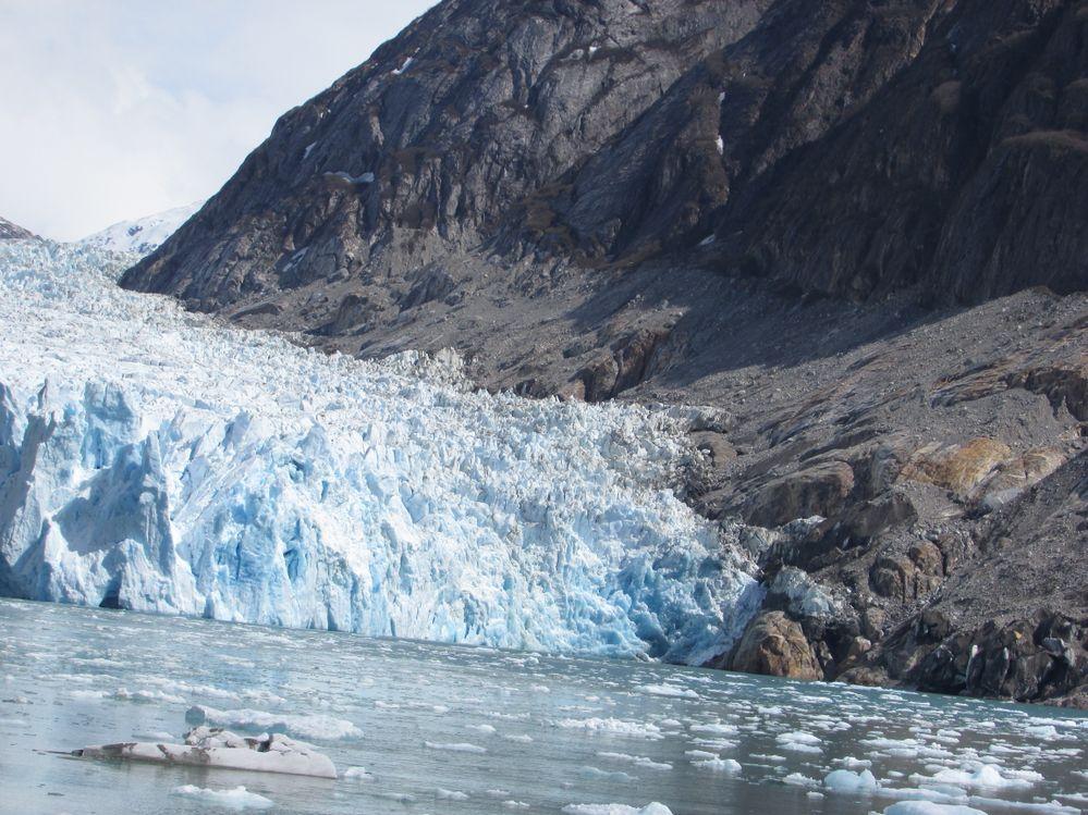 Getting close to glacier