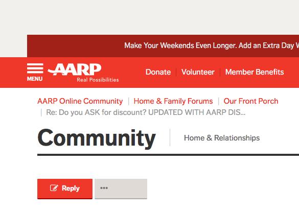 Aarp membership benefits worth it