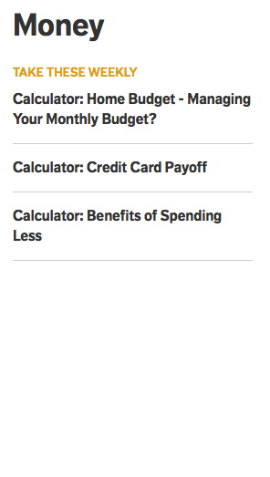 mortgage loan calculator weekly activity broken aarp online