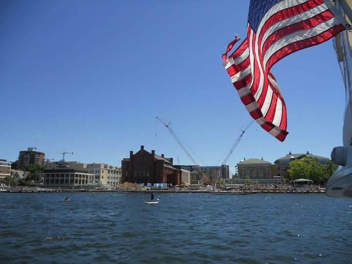 UW Madison, WI  from boat tour