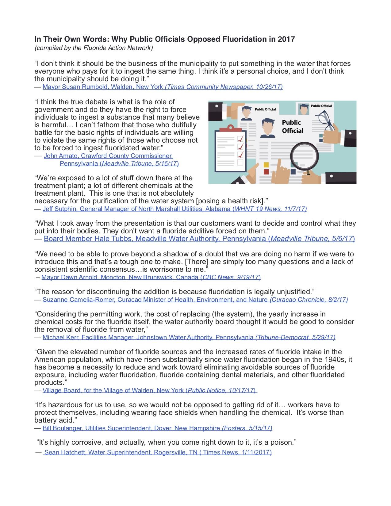 Fluoride - Demand AARP Take Action - AARP Online Community