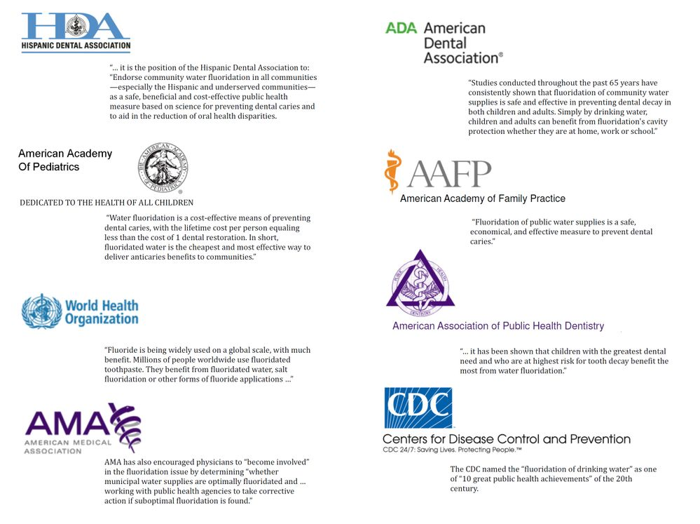 2013 Organizations Recognizing Fluoridation in their Own Words.jpg