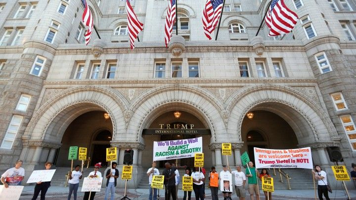 trump int'l hotel dc with protesters.jpg