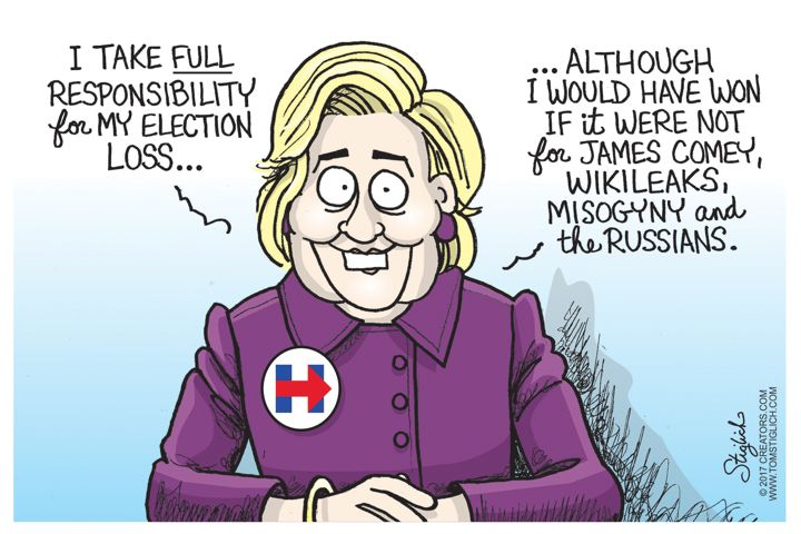She would have won, but.......jpg