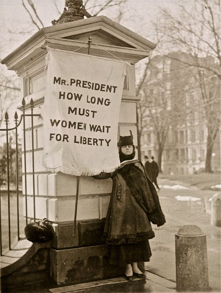 Mr President when will women get liberty.jpg