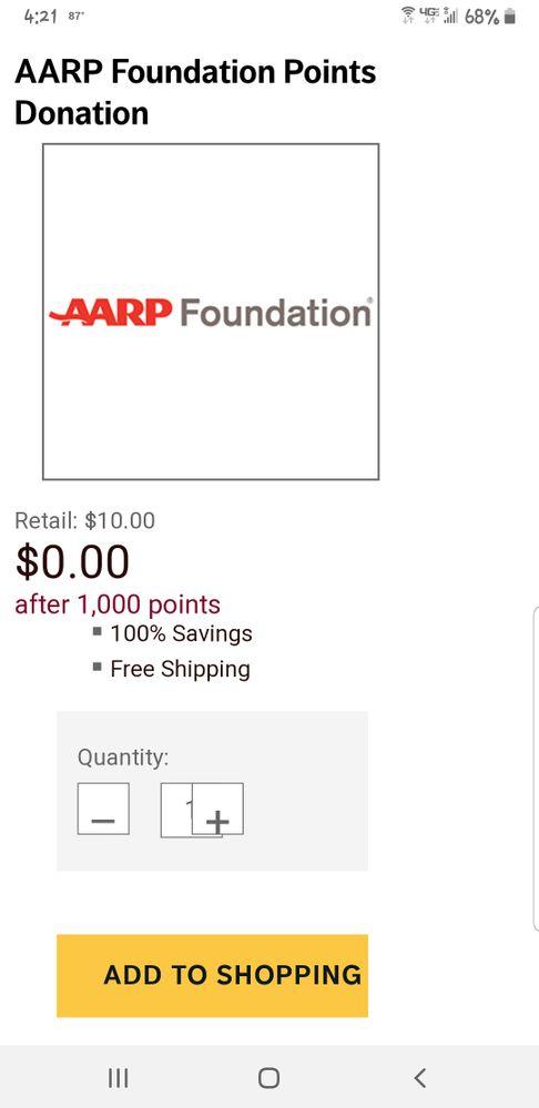Raise limit for donations