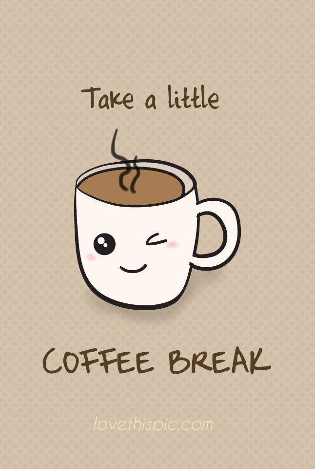 But first...COFFEE!