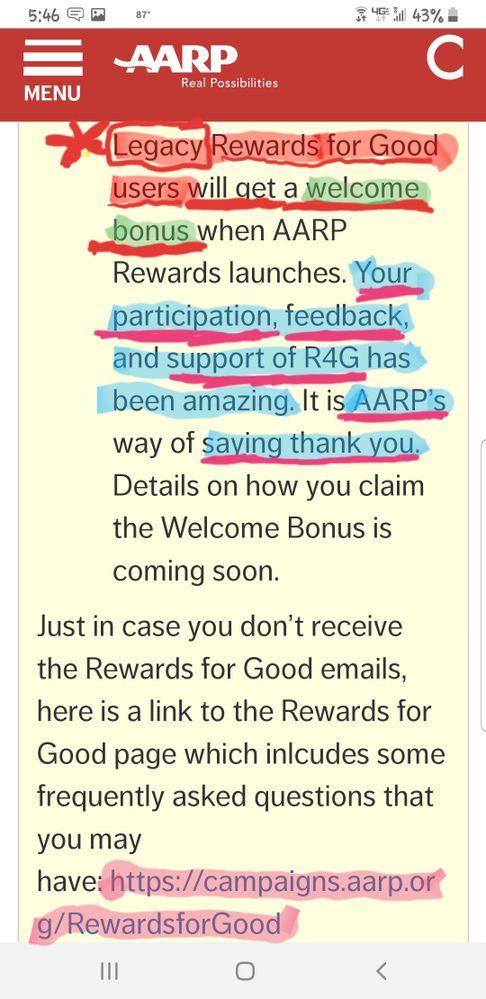Legacy R4G Bonus