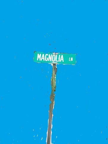 My Magnolia sign