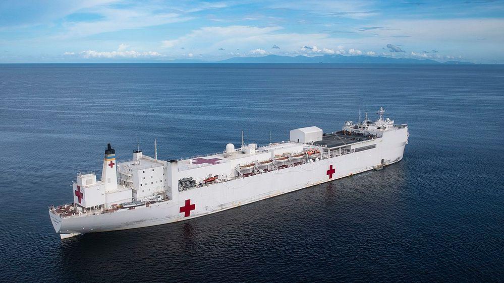 1280px-USNS_Comfort_(T-AH_20)_is_anchored_off_the_coast_of_La_Brea,_Trinidad_and_Tobago._(48677005558).jpg